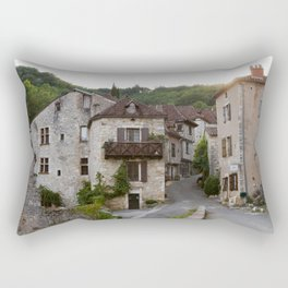 That Village in the French Countryside Rectangular Pillow