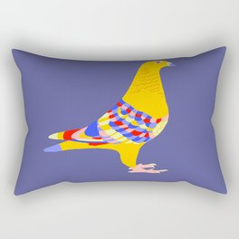 Colombian pigeon Rectangular Pillow