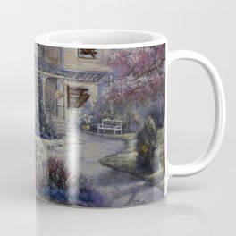 Altered Painting -Welcome Home Dresden Coffee Mug