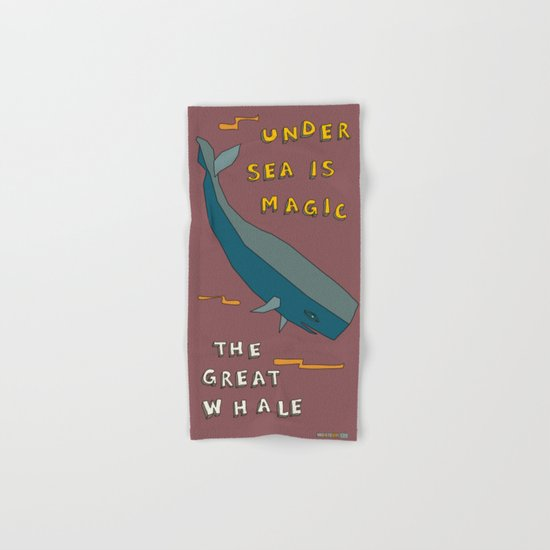 The Great Whale Hand & Bath Towel
