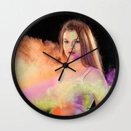 Holly shooting Wall Clock