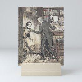 "Arthur Rackham - Dickens' Christmas Carol (1915): ""Now, I'll tell you what, my friend."" Mini Art Print"