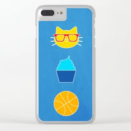 Can't win with those cats - OKC Thunder Clear iPhone Case