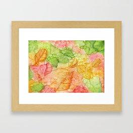 Leaves of Autumn Framed Art Print