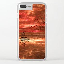 Sailor's Delight Clear iPhone Case