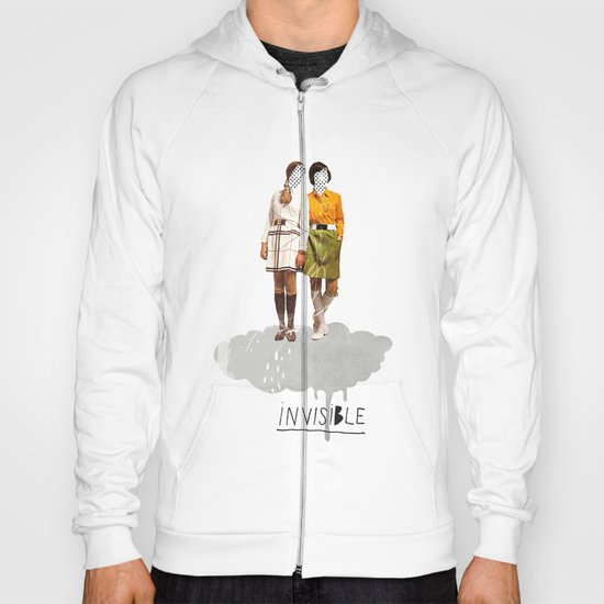 Invisible | Collage Hoody