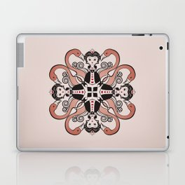 Queen of Hearts mandala Laptop & iPad Skin