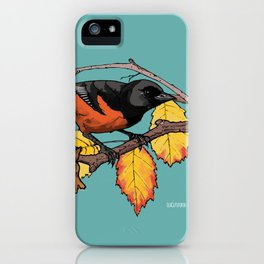 Oriole iPhone Case