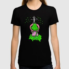 goop from planet poop T-shirt