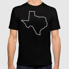 Ride Statewide - Texas Mens Fitted Tee Black MEDIUM