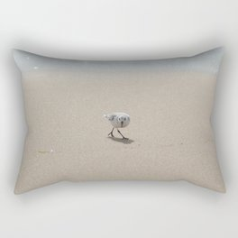 Sandpiper bird Rectangular Pillow