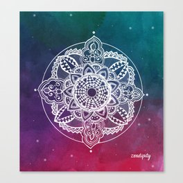 Confidence Zendala ''Starry Sky'' Canvas Print