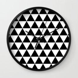 MODERN TRIANGLE PATTERN Wall Clock