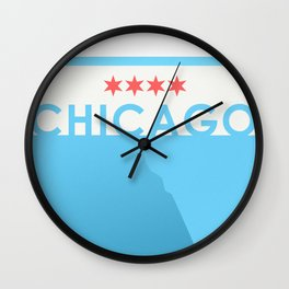 Minimalist Chicago Wall Clock
