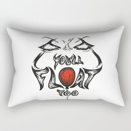 You'll float too Rectangular Pillow