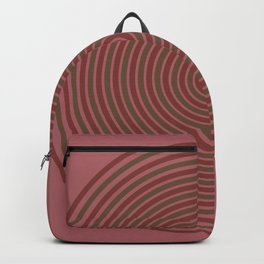 red circle Backpack
