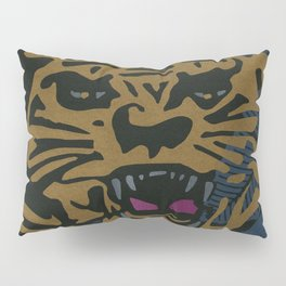 Golden Tiger Pillow Sham