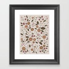 Fig Jam Framed Art Print