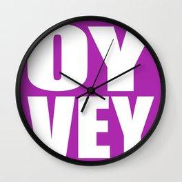 Oy Vey!  Wall Clock