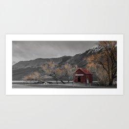 Auburn Art Print