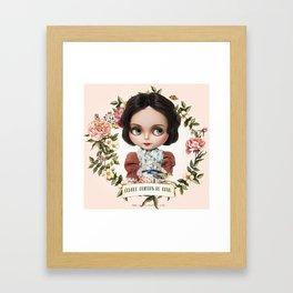 ERREGIRO BLYTHE DOLL IMPERIO ARGENTINA FLOWERS Framed Art Print