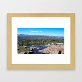 Uinta Mountain Water  Framed Art Print