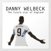 DANNY WELBECK Art Print