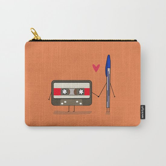 Love: cassette and pen Carry-All Pouch