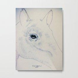 Absract Horse Metal Print