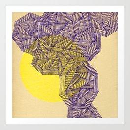 - ultra sun - Art Print