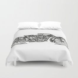 Motorcycle 2 Duvet Cover