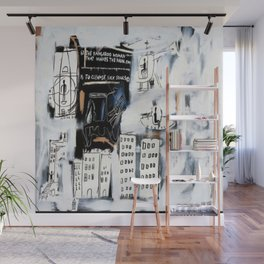 Basquiat City Wall Mural