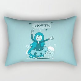 North Pointer Rectangular Pillow