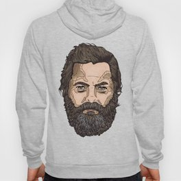 The Face Of Nick Offerman Hoody