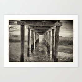 Under The Peir Art Print
