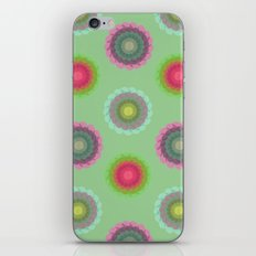 transparent floral pattern 4 iPhone & iPod Skin