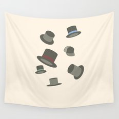 Hats off Wall Tapestry