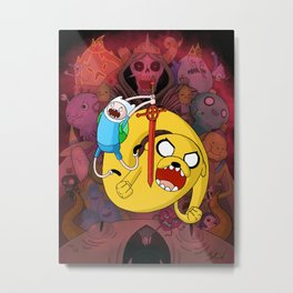 What Time Is It?! Metal Print