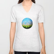 Mother Nature Unisex V-Neck