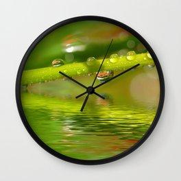 Drops 22 Wall Clock