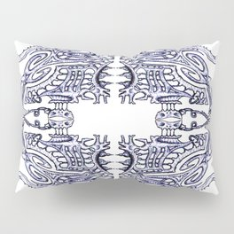 Alien Abstract Pillow Sham