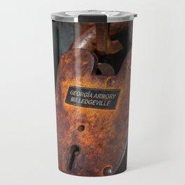 Rusty Lock Travel Mug