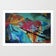 the fierce urgency of now, 2 Art Print