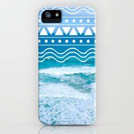 Ocean Doodles iPhone Case