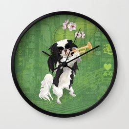 JAZZY JAPANESE CHiN Wall Clock
