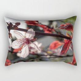 Flowering Plum Rectangular Pillow