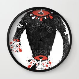 SALVAJEANIMAL headless II Wall Clock