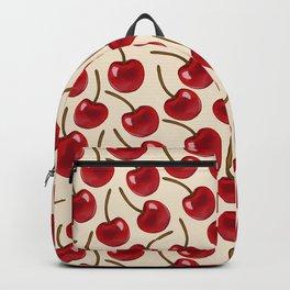 Cherry Print Backpack
