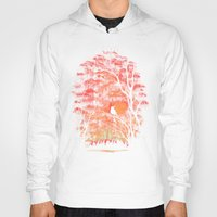 swimming Hoodies featuring Burning In The Skies by Robson Borges