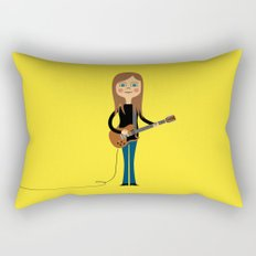 Guitar Hero Rectangular Pillow